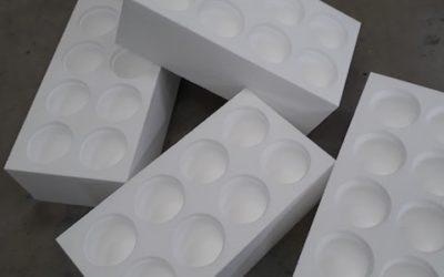 Usinage numérique polystyrène
