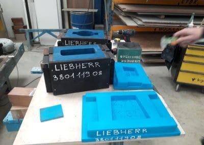 Outillage pour fabrication de contrepoids en fonderie